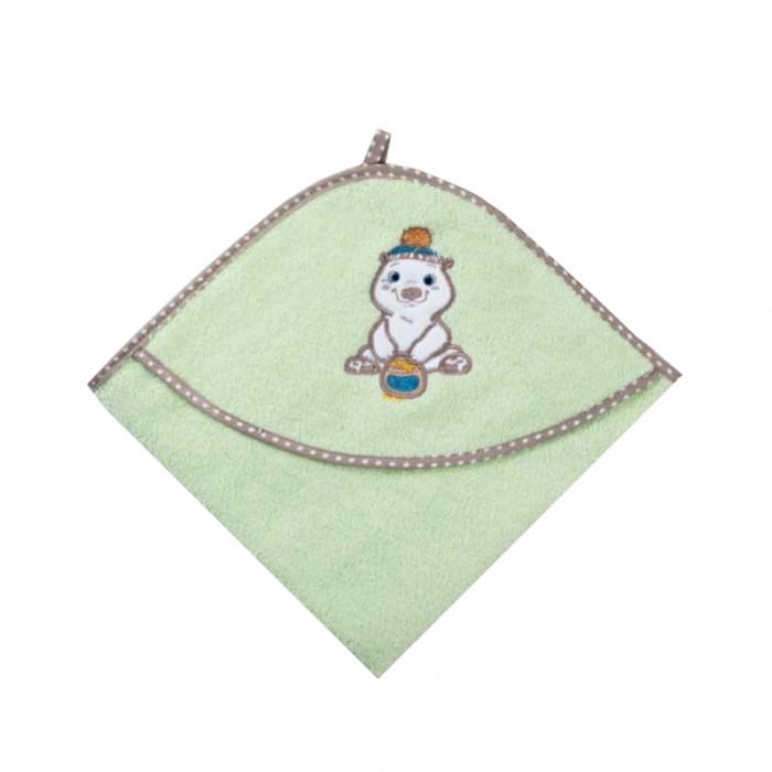 Полотенца Baby Care Полотенце уголок махровое Мишка с медом 80х77 см полотенце кухонное махровое виноград 38х63 см печатное