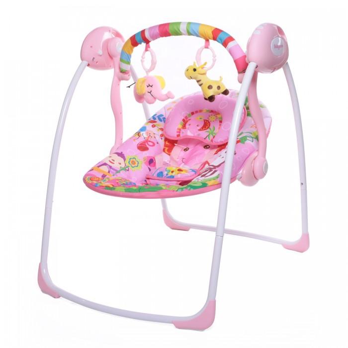 Электронные качели Baby Care Safari с адаптером Джунгли