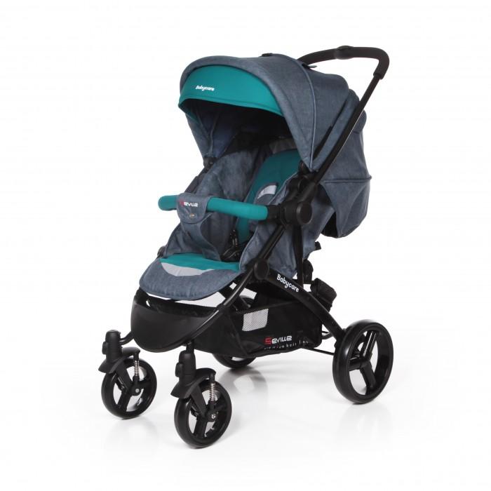 Прогулочная коляска Baby Care SevilleSevilleПрогулочная коляска Baby Care Seville – стильная современная коляска с перекидной ручкой. Безопасности и комфорту ребенка в этой модели отведено особое место. Глубокое просторное сидение можно практически полностью закрыть большим капюшоном, который опускается до бампера. Также капор оснащен большим смотровым окном для контроля за ребенком.  Спинка регулируется механически и плотно фиксируется, а благодаря выдвижной подножке можно получить действительно большое спальное место. При необходимости можно отстегнуть заднюю часть капюшона, оставив только москитную сетку.   Коляска складывается «книжкой» и фиксируется в сложенном состоянии, что очень удобно для транспортировки и хранения.  Особенности: облегченная алюминиевая рама; перекидная ручка позволяет ребенку сидеть как лицом к дороге, так и лицом к маме; большой капюшон с двумя смотровыми окошками может опускаться до бампера; глубокое просторное спальное место; механическая регулировка наклона спинки. Спинка раскладывается до горизонтального положения; выдвижная подножка удлиняет спальное место; передние колеса плавающие с возможностью фиксации; стояночный тормоз на задней оси; съемный поручень с мягкой обивкой; 5-точечные ремни безопасности; коляска складывается книжкой, компактан в хранении и транспортировке.    Размеры: ширина сиденья: 34 см глубина сиденья: 28 см длина спального места: 83 см.<br>