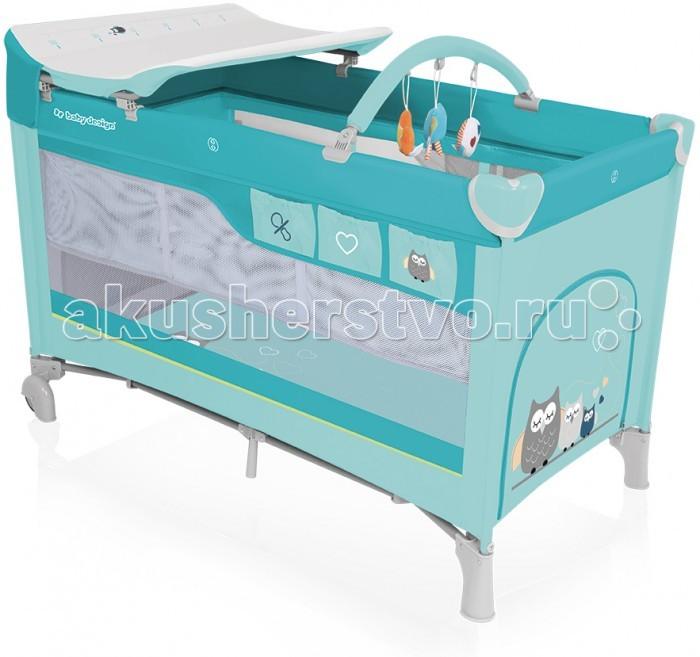 Манеж Baby Design Dream кровать