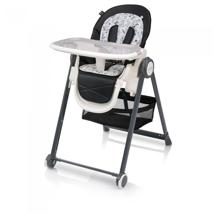Стульчик для кормления Baby Design PenneСтульчики для кормления<br>Стульчик для кормления Penne.  Стильный и функциональный стульчик для малышей с рождения и до 3х лет. Аккуратный  лаконичный  дизайн, модные расцветки,   дополнительный вкладыш с актуальным растительным принтом.  Для новорожденных он может быть использован как шезлонг для отдыха и сна, начиная с 6 месяцев - как стульчик для еды и игры, а когда малыш подрастет, столик можно убрать, чтобы ребенок мог сидеть за столом со взрослыми. Сиденье стульчика выполнено из экокожи, его легко протереть в случае загрязнения.   Дополнительный мягкий вкладыш делает стульчик более уютным. Спинка имеет несколько положений наклона, раскладывается по лежачего положения. Подножка регулируется по высоте в 3-х положениях. Ремни безопасности, ограничитель между ножек и плотно придвинутый столик обеспечат безопасность крохи.  Стульчик удобно перемещать по квартире благодаря колесам на передних ножках. Он устойчивый и соответствует последним европейским нормам – 2 опоры, 2 колеса. Колеса прорезиненные – не портят напольное покрытие. Есть вместительная корзина для игрушек.  Стульчик Baby Design Penne регулируется по высоте в 4-х положениях. Столик двойной- верхний уровень съемный служит подносом - удобно мыть после кормления малыша. Вместительная корзина для игрушек. Столик снимается полностью, его удобно хранить, повесив на специальные крепления на задних ножках. Baby Design Penne компактно складывается для хранения.