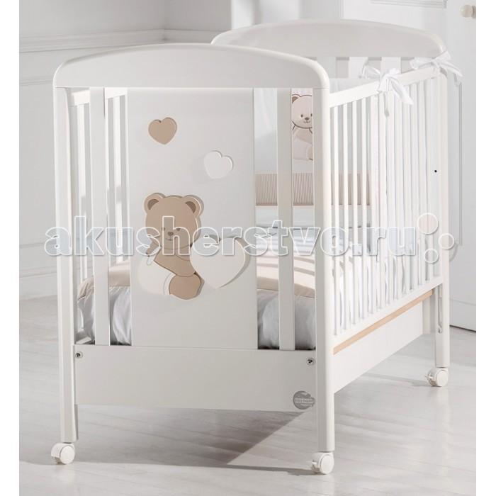 Детская кроватка Baby Expert BaluBaluДетская кроватка Baby Expert Balu обладает нежным дизайном, безупречным итальянским стилем и высоким качеством.  Особенности: Ортопедическое дно из буковых реек формирует правильное положение спины малыша Легкая сборка без инструментов (система Easy Fix) Боковые ограждения регулируются по высоте Высота боковых ограждений не менее 60 см, что соответствует европейским требованиям безопасности Четыре резиновых колесика с 2 стопорами Возможность установить качалку Подкроватный ящик в комплекте Расстояние между планками не более 7 сантиметров – ручки, ножки и голова ребенка не застрянут в промежутках Сертификат ISO 9001 гарантирует безопасность и не токсичность материалов, используемых при создании кроватки Материалы: МДФ, бук, краски на водной основе.<br>