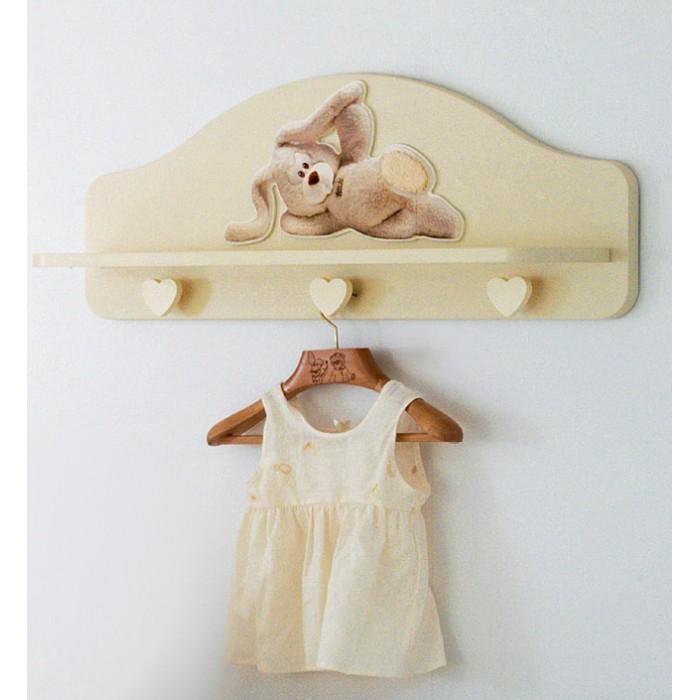 Аксессуары для детской комнаты Baby Expert Полка-вешалка Cremino by Trudi мягкие игрушки trudi лайка маркус 34 см