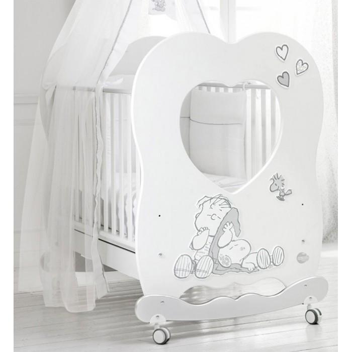 Детская кроватка Baby Expert Snoopy Linus 120x85