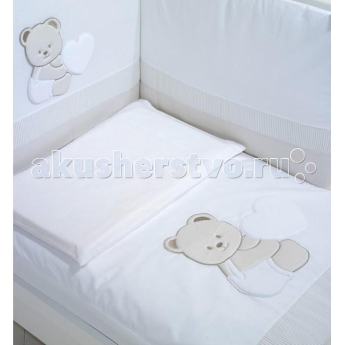 Комплект в кроватку Baby Expert Tato (4 предмета)Tato (4 предмета)Комплект в кроватку Baby Expert Tato (4 предмета) - гармоничное сочетание стиля и нежности, которые создадут для вашего малыша уютную атмосферу, наполненную теплом и уютом.   В комплекте: легкое стеганое одеяло: 70х100 см (наполнитель - синтепон) пододеяльник - 100х130 см мягкий бампер на завязках: 195х40 см наволочка: 40х60 см. Белье и одеяло - допускается стирка в стиральной машине при 30 градусах (режим для деликатных тканей).<br>