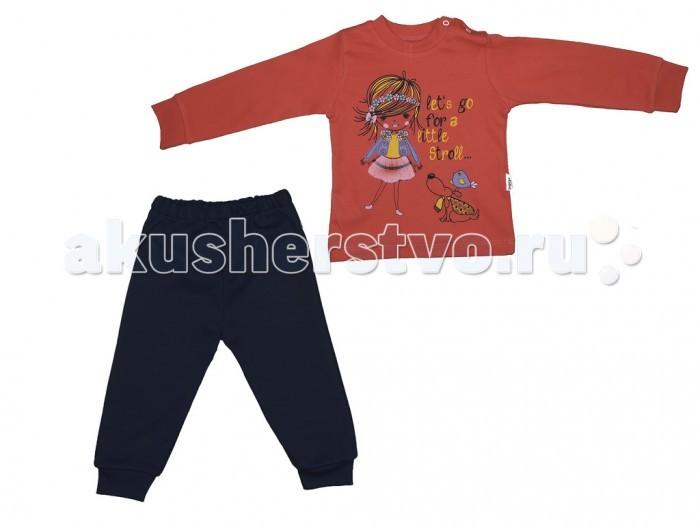 Комплекты детской одежды Baby Go Комплект для девочки (2 предмета) BG381