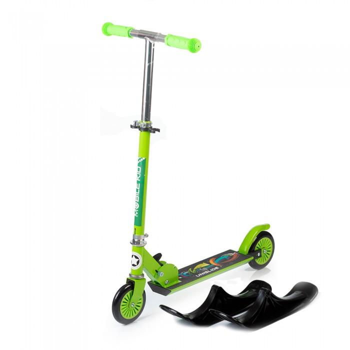 Двухколесный самокат Mobile Kid Сноускутер UniSlide 2 в 1