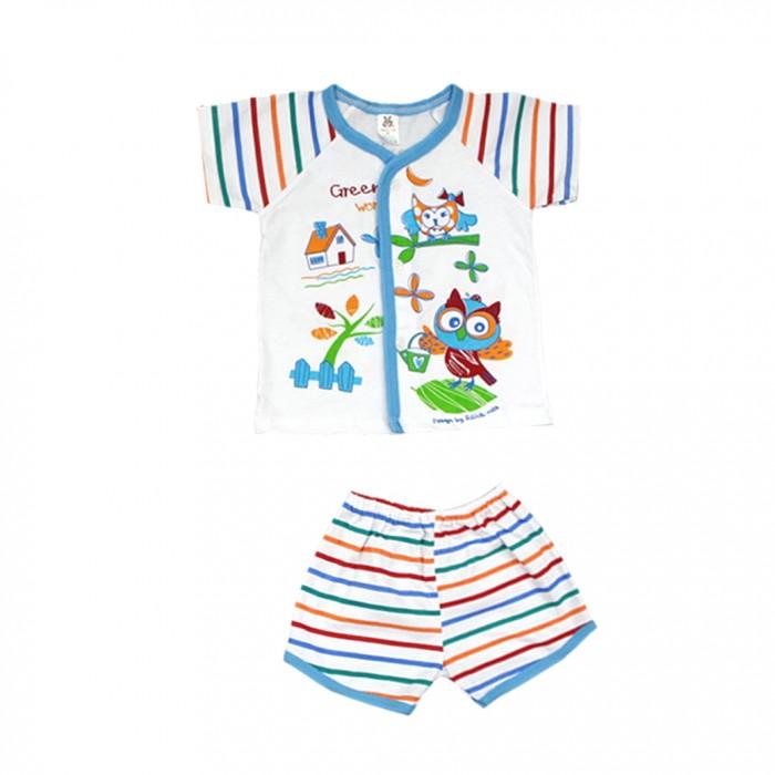 Комплекты детской одежды Baby Hood Комплект для девочки (кофточка и шорты) 14-2939