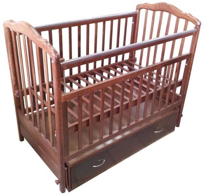 детские кроватки Детские кроватки Baby Luce Лидер 1 (маятник поперечный)