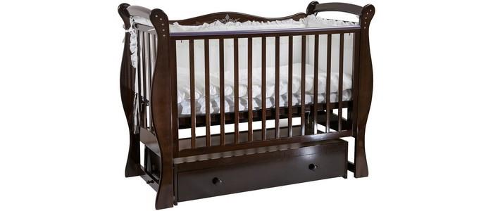 Фото 8 - Детская кроватка Baby Luce Лучик универсальный маятник