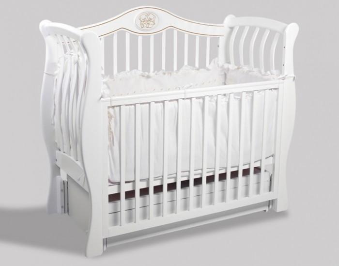 Детская кроватка Baby Luce Сюзи М (универсальный маятник)