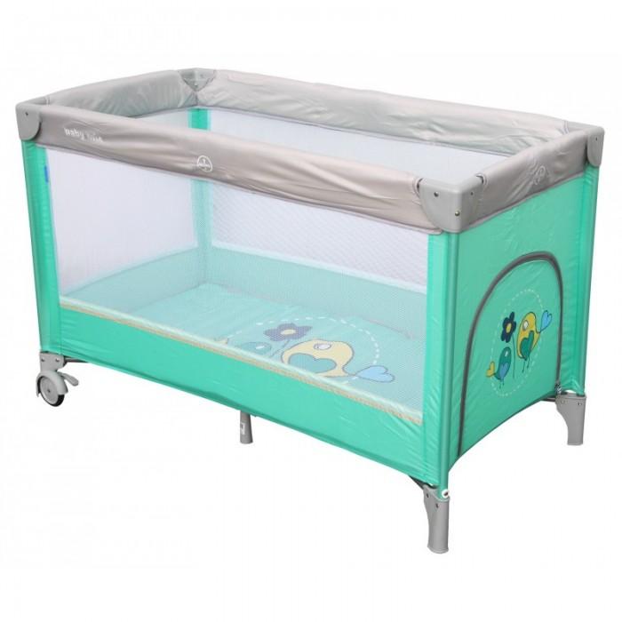Детская мебель , Манежи Baby Mix Цветочки арт: 428944 -  Манежи