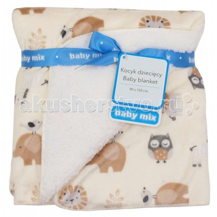 Пледы Baby Mix Детский 80х110 см детский матрас dreamline baby mix 65х125 см