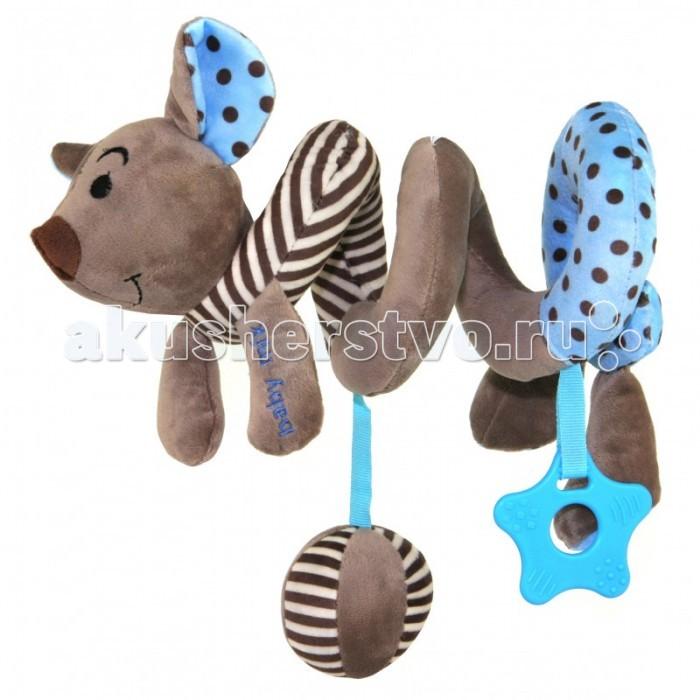 Дуги для колясок и автокресел Baby Mix Игрушка-спиралька дуги для колясок и автокресел tolo toys кролики