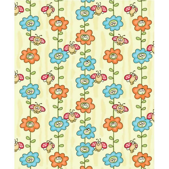одеяла Одеяла Baby Nice (ОТК) байковое Божья коровка на цветке 100х118 см