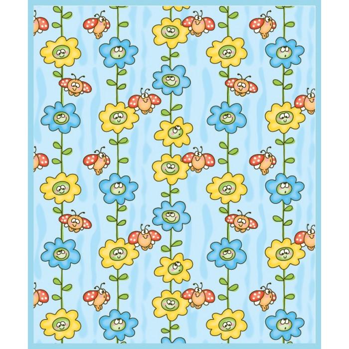 одеяла Одеяла Baby Nice (ОТК) байковое Божья коровка на цветке 100х140 см
