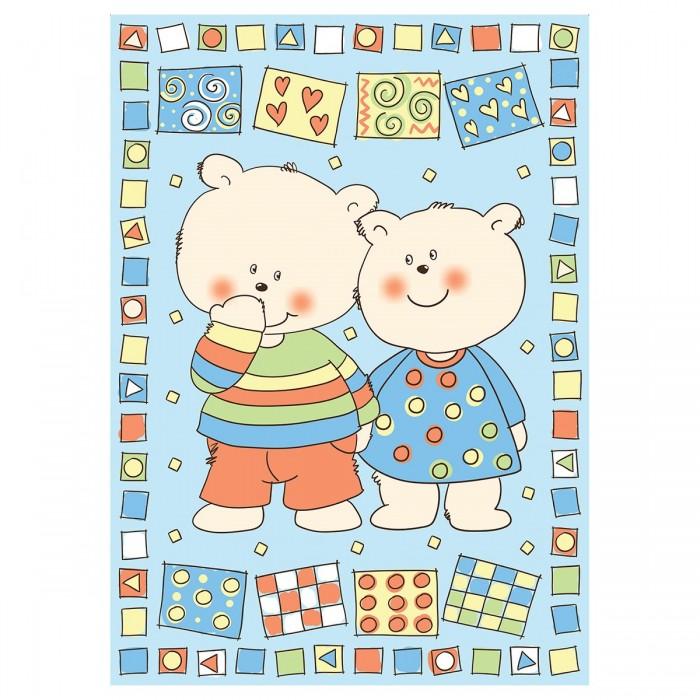 Одеяла Baby Nice (ОТК) байковое Два медведя 100х140 см