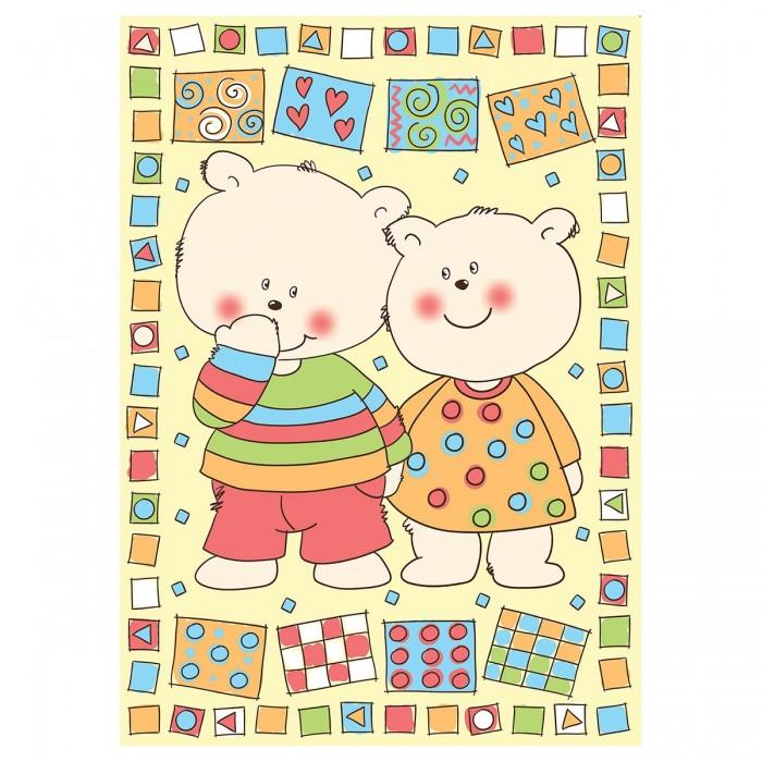 одеяла Одеяла Baby Nice (ОТК) байковое Два медведя 100х140 см