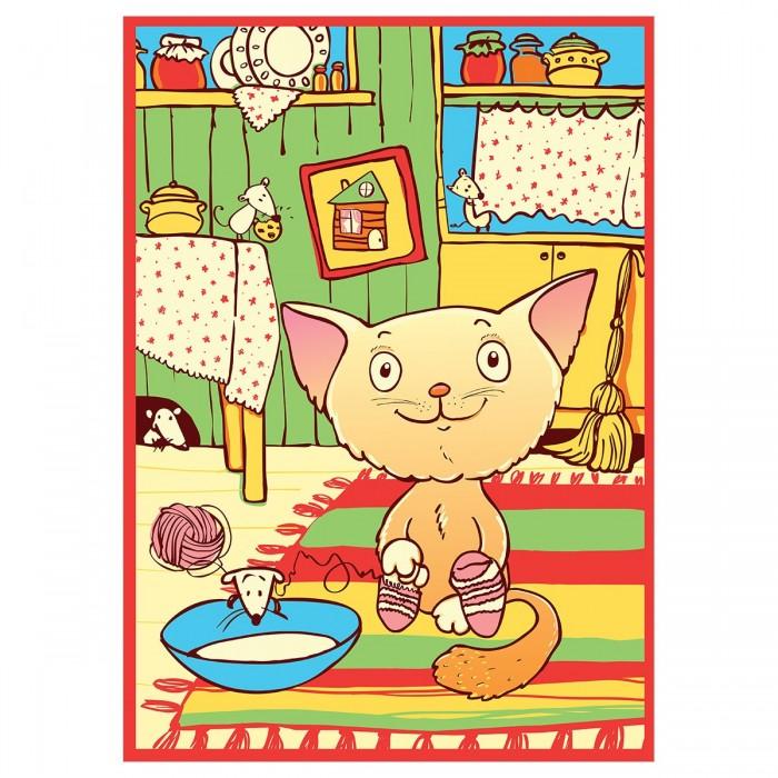 одеяла Одеяла Baby Nice (ОТК) байковое Кот на кухне 100х140 см