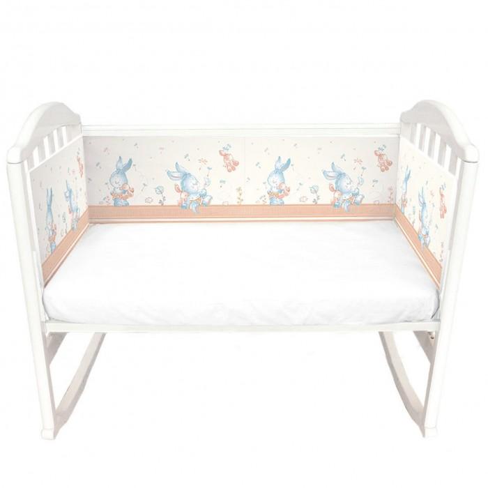 Бортики в кроватку Baby Nice (ОТК) Зайчики