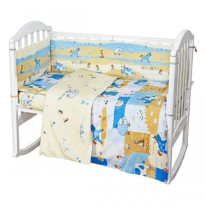 Купить Комплекты в кроватку, Комплект в кроватку Baby Nice (ОТК) Ферма (6 предметов) H13