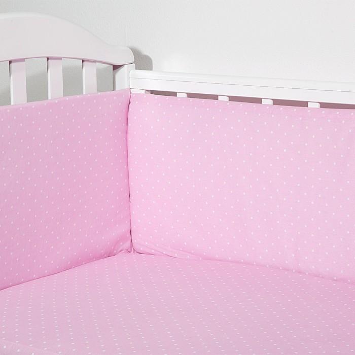 Бортики в кроватку Baby Nice (ОТК) Горох (бампер)