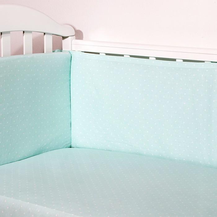Купить Бортики в кроватку, Бортик в кроватку Baby Nice (ОТК) Горох (бампер)
