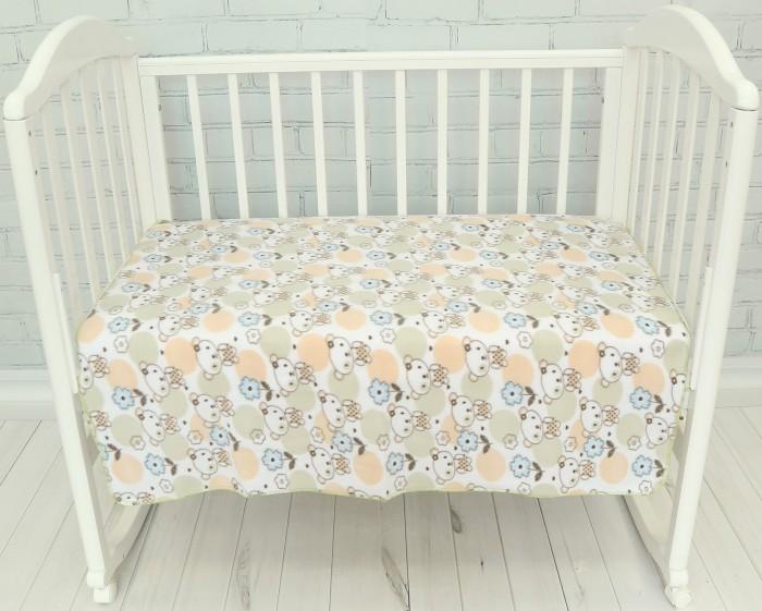 Пледы Baby Nice (ОТК) из флиса 100х140