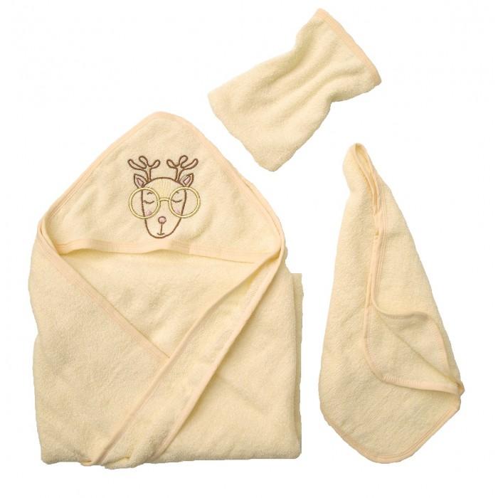 Полотенца Baby Nice (ОТК) Комплект для купания махровый Олень (3 предмета)