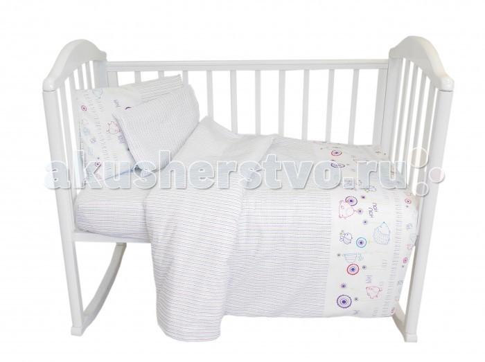 Постельное белье Baby Nice (ОТК) комплект Ежик (6 предметов)