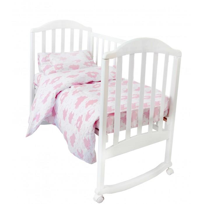 Постельное белье Baby Nice (ОТК) Споки Ноки комплект Облака