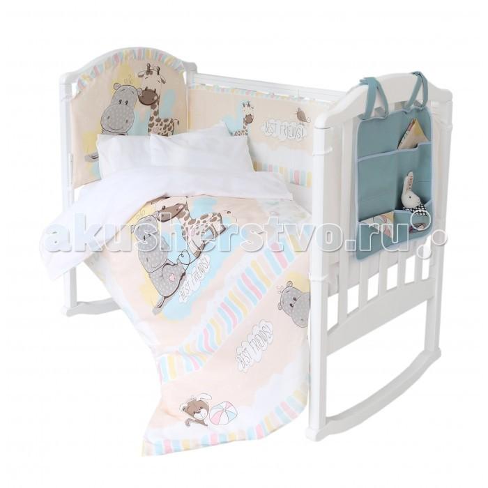 Комплекты в кроватку Baby Nice (ОТК) Лучшие друзья (9 предметов) комплекты в кроватку mummys hugs нежность 120х60 см 7 предметов