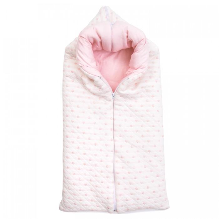 Конверты на выписку Baby Nice (ОТК) Конверт-одеяло Сердечки