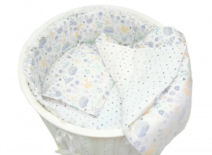 Постельное белье Baby Nice (ОТК) Лесная поляна для круглой кроватки baby nice отк в 79067