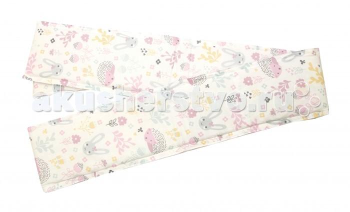 Постельные принадлежности , Бортики в кроватку Baby Nice (ОТК) Лесная поляна для овальной кроватки слитный арт: 426179 -  Бортики в кроватку