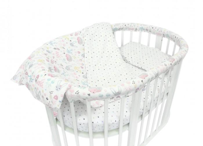 Постельное белье Baby Nice (ОТК) Лесная поляна для овальной кроватки