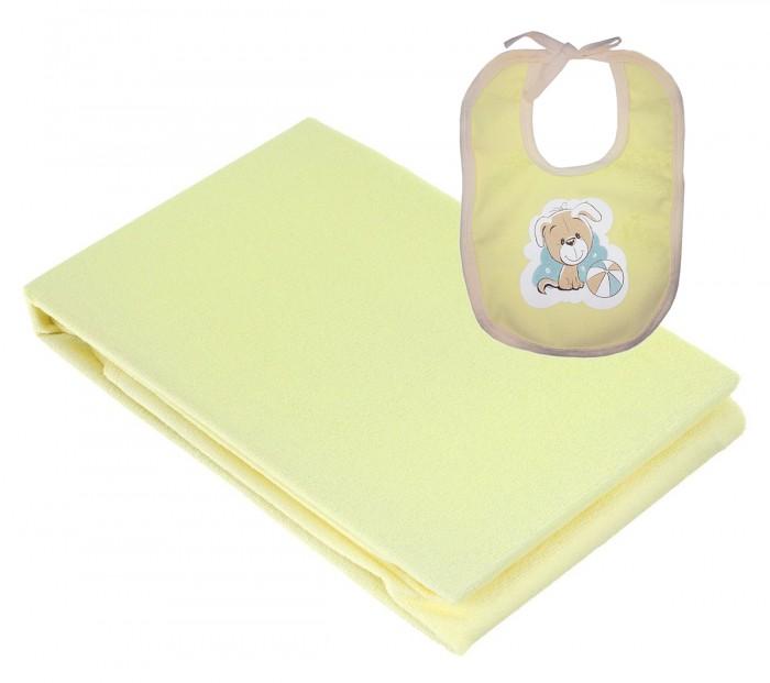 Наматрасники Baby Nice (ОТК) Наматрасник 60х120 см + слюнявчик