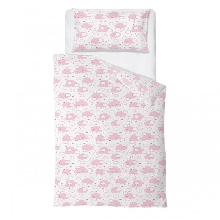 Комплект в кроватку Baby Nice (ОТК) Облака (4 предмета)