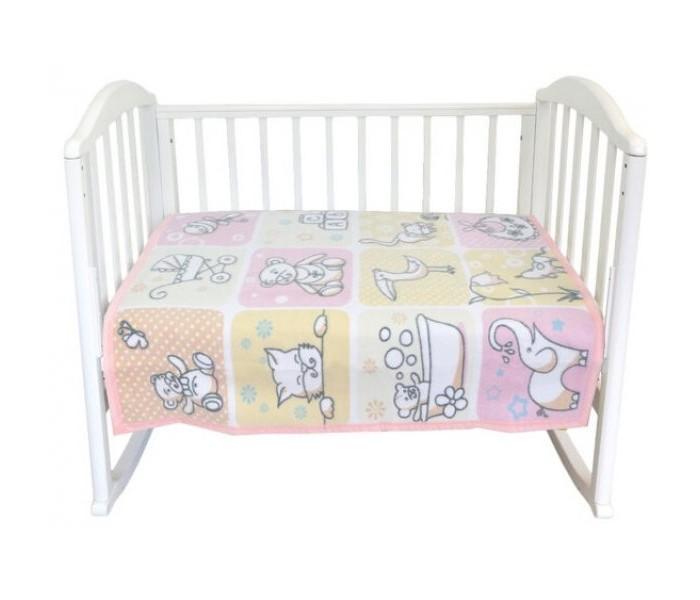 Одеяла Baby Nice (ОТК) байковое Веселые картинки 85х115 см