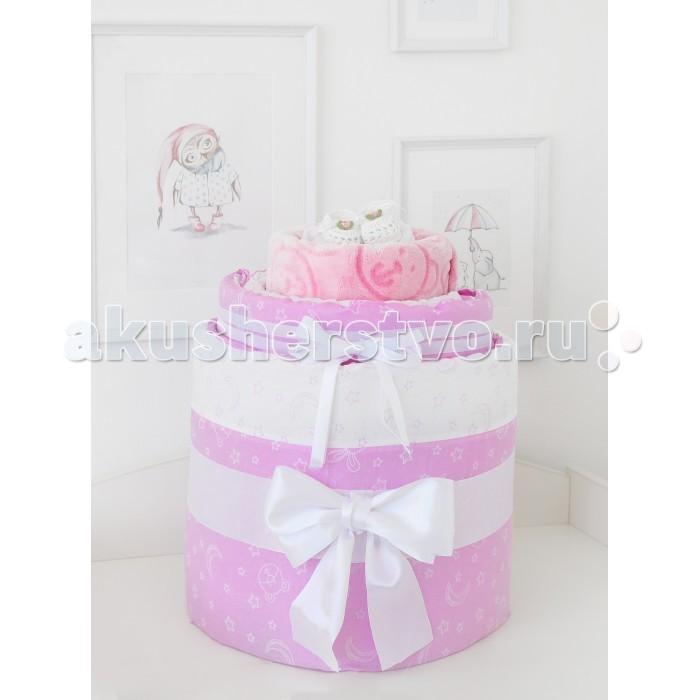 Комплекты в кроватку Baby Nice (ОТК) набор для новорожденного №02 Луны и звезды (8 предметов)