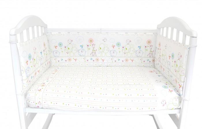 Картинка для Комплект в кроватку Baby Nice (ОТК) Саванна (6 предметов)