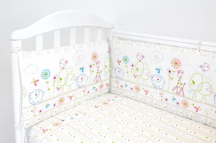 Бортики в кроватку Baby Nice (ОТК) Саванна