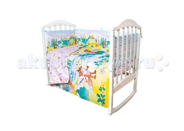 Постельные принадлежности , Комплекты в кроватку Baby Nice (ОТК) Колобок (6 предметов) арт: 397809 -  Комплекты в кроватку
