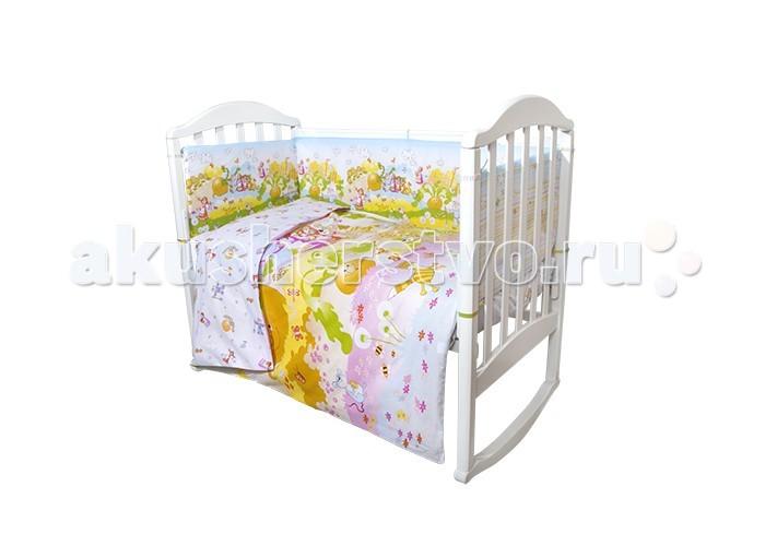Постельные принадлежности , Комплекты в кроватку Baby Nice (ОТК) Репка (6 предметов) арт: 397814 -  Комплекты в кроватку
