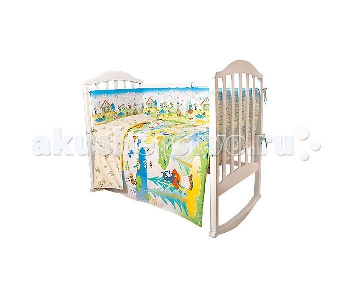 Комплекты в кроватку Baby Nice (ОТК) Семеро козлят (6 предметов)
