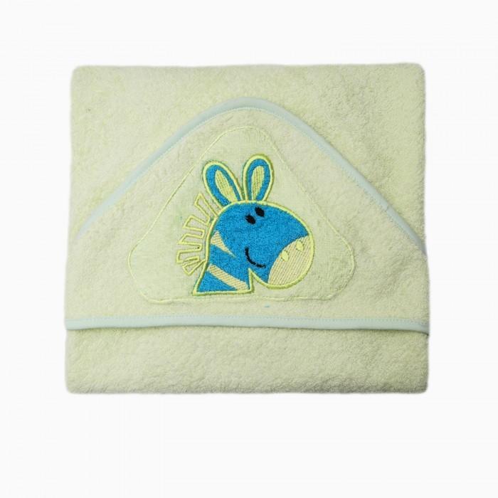 Полотенца Baby Nice (ОТК) Уголок для купания махровый 80 х 80 M532/LG