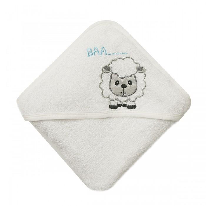 Полотенца Baby Nice (ОТК) Уголок для купания махровый Овечка 80х80 см