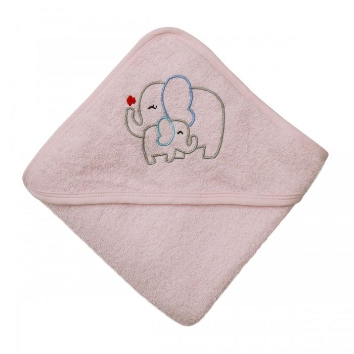 Полотенца Baby Nice (ОТК) Уголок для купания махровый Слоники 80х80 см