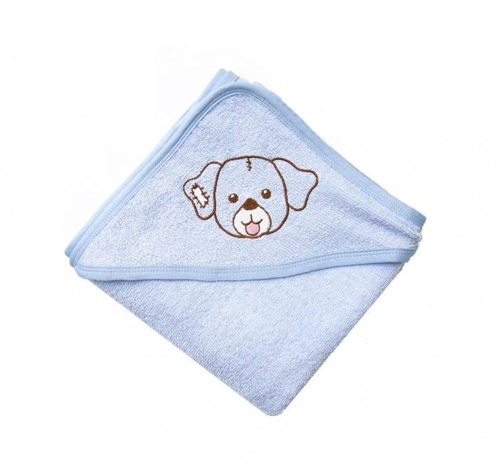Полотенца Baby Nice (ОТК) Уголок для купания махровый Собачка 80х80 см