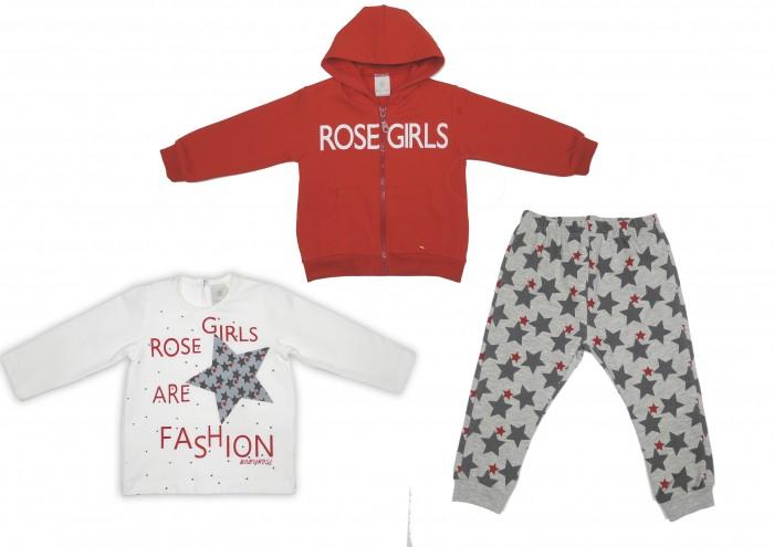 Комплекты детской одежды Baby Rose Комплект для девочки 7240/7268 комплекты детской одежды клякса комплект 5 предметов 53 5228